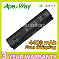 Apexway 4400mAh HSTNN-LB4N HSTNN-LB4O HSTNN-YB4N HSTNN-YB4O PI06 P106 PI09 For HP Envy TouchSmart 14 14t 14z 15 15t 15z  17 17t