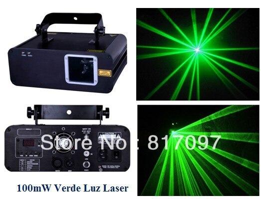 Venta 100 МВт Luz Лазерная Верде Райо показать лазерный DJ Lazer проектор Лазеры Вердес laserlicht eventos праздники Лус Sonido Envio безвозмездно