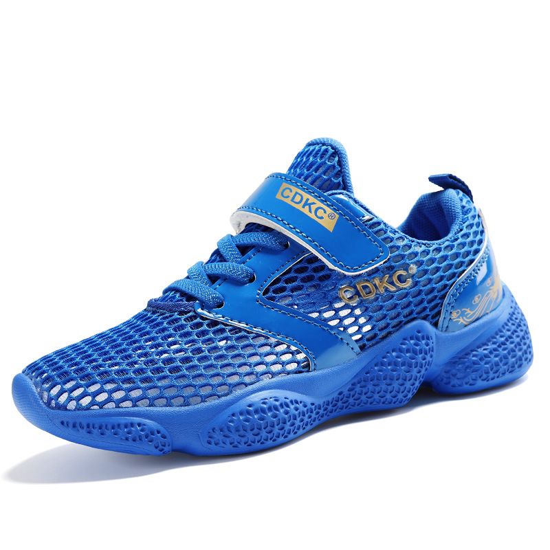 Children's Running Shoes 2019 Summer New Big Children's Hollow Mesh Breathable Wild Student Casual Shoes