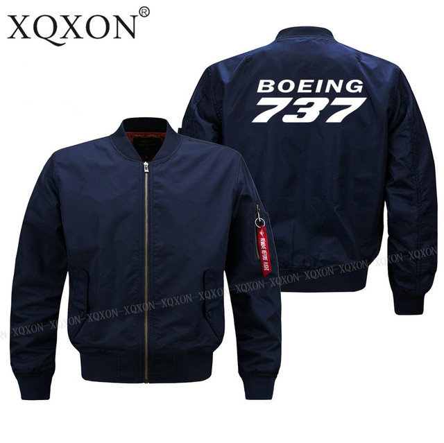 XQXON-2018 new BOEING 737 design man Coats Jackets hot sale men pilot jacket (Customizable) J58