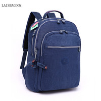 Waterproof Nylon Backpack Monkey Women S Backpack High Quality College Style Backpack Women Bag Laptop Shoulder