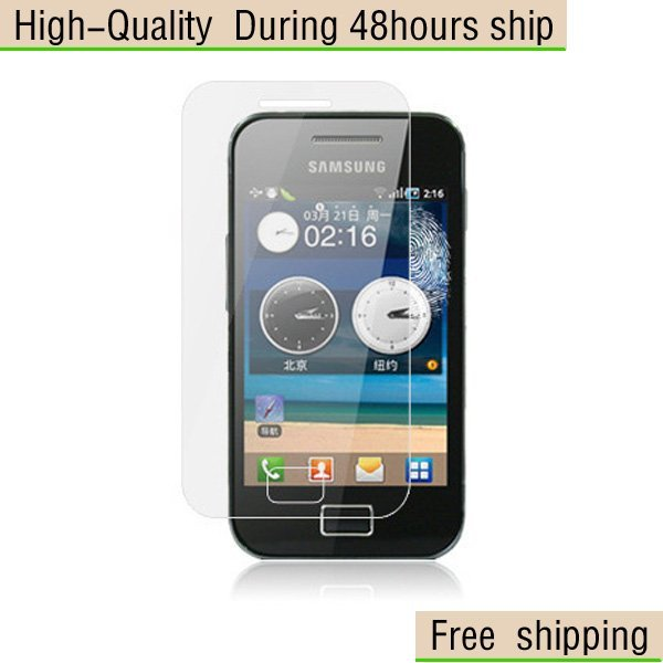 New Clear Screen Protector For Samsung  S5830 Galaxy Ace Free Shipping
