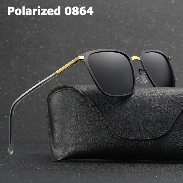12223a215 JackJad 2018 Fashion Men Cool HD POLARIZED Square Style Sunglasses Driving  Brand Design Sun Glasses Oculos De Sol Masculino 0864