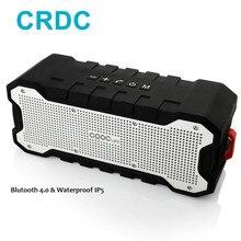 Crdc Mini Bluetooth Динамик открытый Портативный Водонепроницаемый Динамик с Enhanced Bass двойной 5 Вт драйверы/30-час игр громкоговоритель