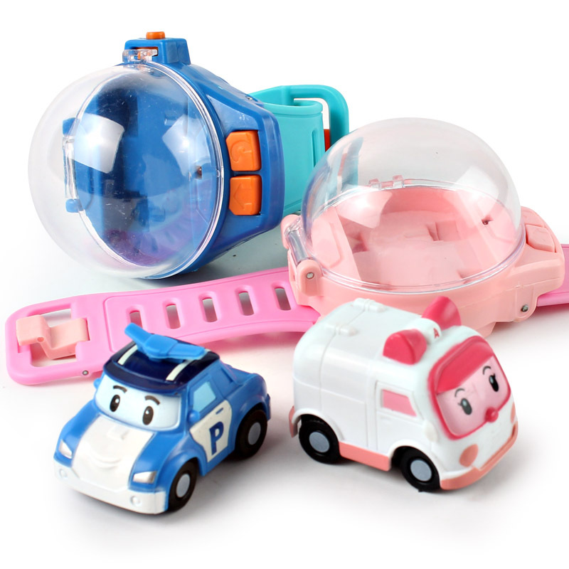 Children's Watch Remote Control Car Gravity Induction Racing Kids Girls Electric Toy Car Parent-child Puzzle Birthday Happy Gift