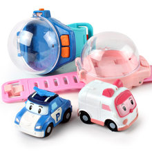Children's Watch Remote Control Car Gravity Induction Racing Kids Girls Electric Toy Car Parent-child Puzzle Birthday Happy Gift(China)