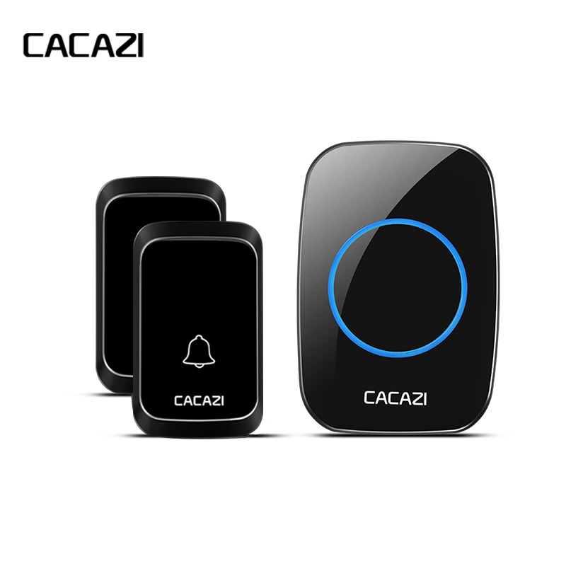 Aspiring New-cacazi Wireless Waterproof Doorbell Led Light Battery Button 58 Chime Home Cordless Calling Bell 300m Remote Control Doorbell Security & Protection