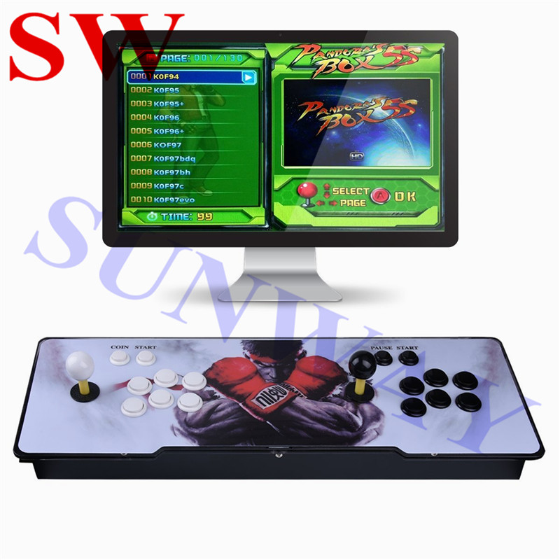 Pandora 6S 1388 In 1 1399 in 1 Arcade Console Joystick Arcade Buttons With Flash Light