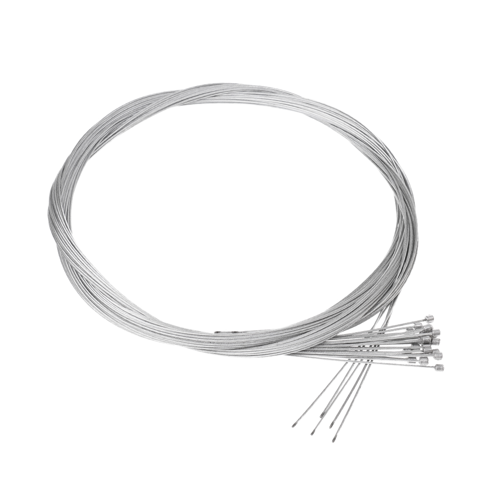 20Pcs Bike Inner Shift Cables Shifter Gear Speed Line Derailleur Bicycle Parts 2m X 1mm