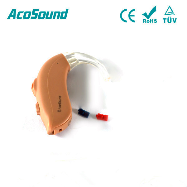 AcoSound AcoMate 420 BTE Behind The Ear 4 Channels Digital Hearing Aid Medical Ear Hearing Aids