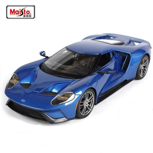 Maisto Nieuwe 1 18 2017 Ford Gt Sportwagen Legering Metalen Model Auto Cast