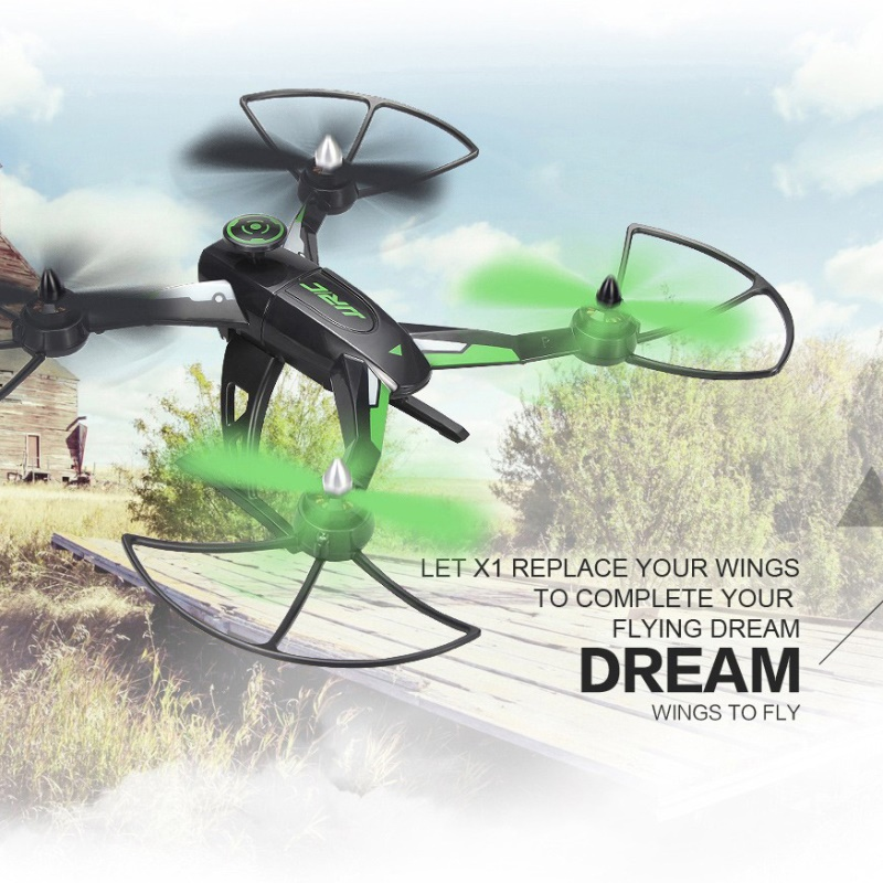 JJRC X1 RC Drone D1806-2280KV Brushless Motor 2.4G 4CH 6-Axis RC Quadcopter Flying Remote Control Helicopter