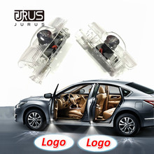 JURUS 2Pcs Wireless Lamp Projector Logo Led For Toyota Projector Door Led Corolla Crown Prado Prius Welcome Light Backlight Auto цена