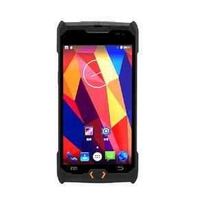Image 2 - Android 6.0 robuste PDA 4G Terminal de poche 1D 2D NFC RFID lecteur sans fil lecteur de codes à barres Wifi Bluetooth GPS collecteur de données