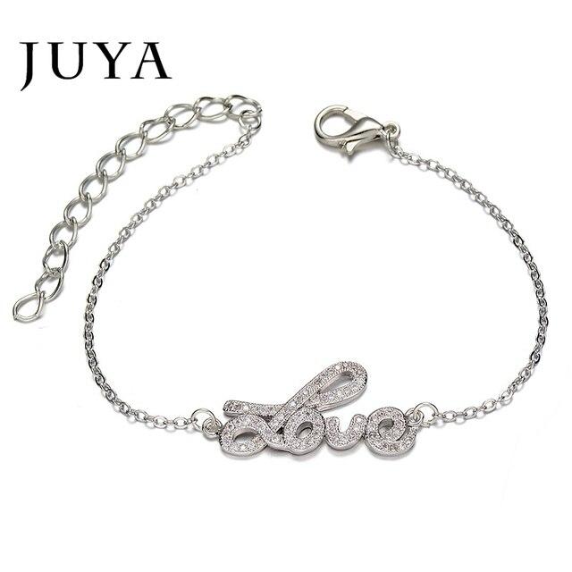 Best Gift For Girlfriend Lover Adjustable Letter Bracelet Femme