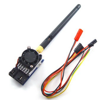 5.8G 1000mW 8 Channels Wireless AV Transmitter for FPV Aerial Photography with Transfer Line/ Antenna TX51W new boscam fpv 5 8g 5 8ghz 2000mw 2w 32 channels wireless av transmitter automatic signal serch tx58 2w for fpv support fatshark