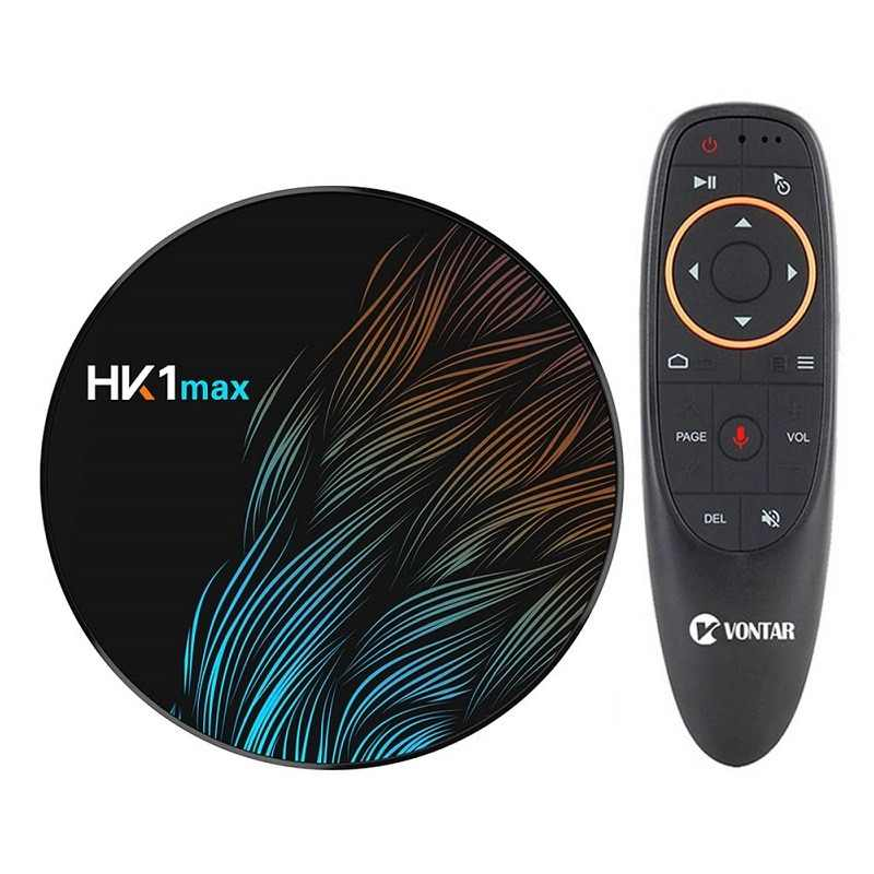 HK1 Max Inteligente Caixa de TV Android 9.0 GB 64 4 GB RK3328 1080 p 4 K Wifi Google Play Netflix set top Box Media Player Android Caixa 9.0