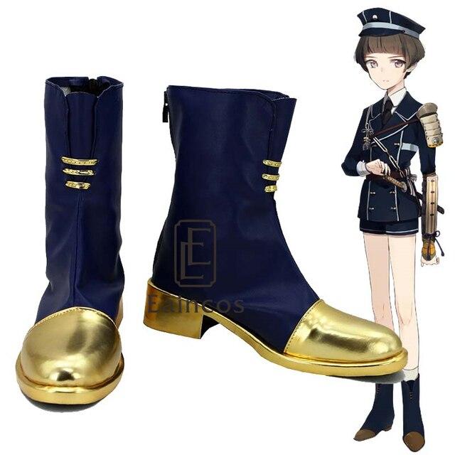 Touken Ranbu Online Game Hirano Toushirou Cosplay Shoes Boots Custom Made