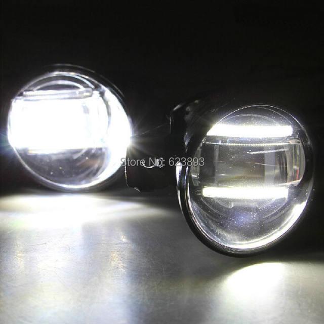 Online Shop 2x New Super Bright LED Daytime Running Light DRL Bars ...