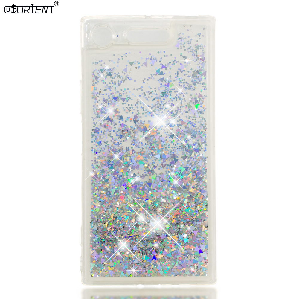 Nice Glitter Case For Sony Xperia Xz1 Xz 1 Dynamic Liquid Quicksand Back Cover G8343 G8342 G8341 Soft Silicone Tpu Phone Cases Funda Providing Amenities For The People; Making Life Easier For The Population Cellphones & Telecommunications