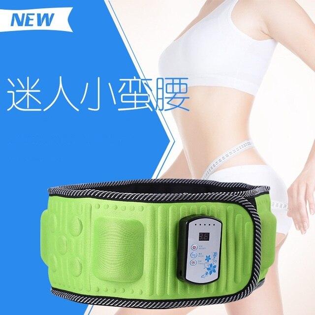 45cddf5065 2016 New Ab Shaper Belt Gymnic Toning Fat Burning Massager Belt - Slender  Slimming Fat Burner Loosing Weight Belt Massager