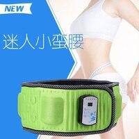 2016 New Ab Shaper Belt Gymnic Toning Fat Burning Massager Belt Slender Slimming Fat Burner Loosing Weight Belt Massager