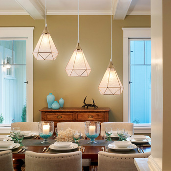 Led Porch Light | European Dining Room Three Chandelier Personality Modern Chandelier Aisle Corridor Porch LED Chandelier