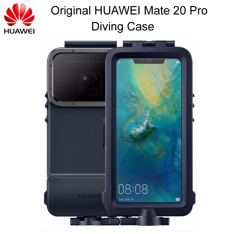 Snorkelling Case For Huawei Mate 20 Pro diving Protector Case Waterproof Official Original Mate20 Pro Underwater shooting CoverSnorkelling Case For Huawei Mate 20 Pro diving Protector Case Waterproof Official Original Mate20 Pro Underwater shooting Cover
