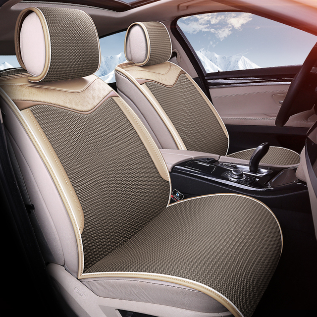 Breathable Cool Car Cushions Free Bundle Car Seat Cover Car Styling For  Summer Completely Fit