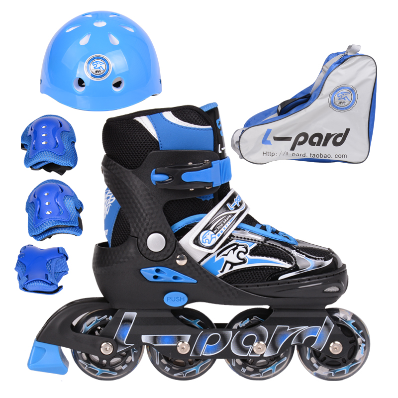 adjust size kids inline skates, PU wheel kids roller skates with ABEC-7 axle bearing, front wheel flash children skates shoes lk715 adults roller skates double row 4 pu wheel skating shoes lace up white skates men women sneakers size 35 44