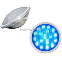 free shipping to North America waterproof IP68 rgb par56 led pool light 12v 54W led pond light 2pcs/Lot for aquaria