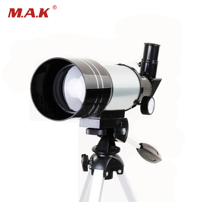 F30070M Professional Astronomical Monocular Telescope  Lens Eyepiece with Tripod For Astronomic Space Free Shipping 10x zoom telescope lens with tripod