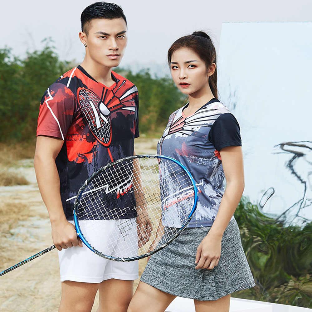 Kawasaki оригинальная женская спортивная одежда бадминтон одежда рубашки v-образный вырез дышащая теннисная футболка для женщин ST-S2105