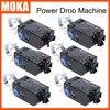 6 יח'\חבילה מערכת Drop טיפת כוח מכונת שלב DMX וילון מיוחד ציוד שלב כוח Fx Drop DJ|stage curtain|dmx djstage equipment -