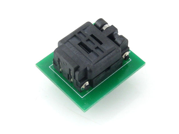 module Waveshare QFN8 TO DIP8 (D) Plastronics QFN IC Programmer Adapter Test Socket 3*2 mm 0.5Pitch for QFN8 MLF8 MLP8 Package stc15f104e 35i dip 15f104 dip8