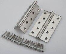 5 » X 5 » X 3 мм из нержавеющей стали кисть никель дверные петли тяжелых петли новый