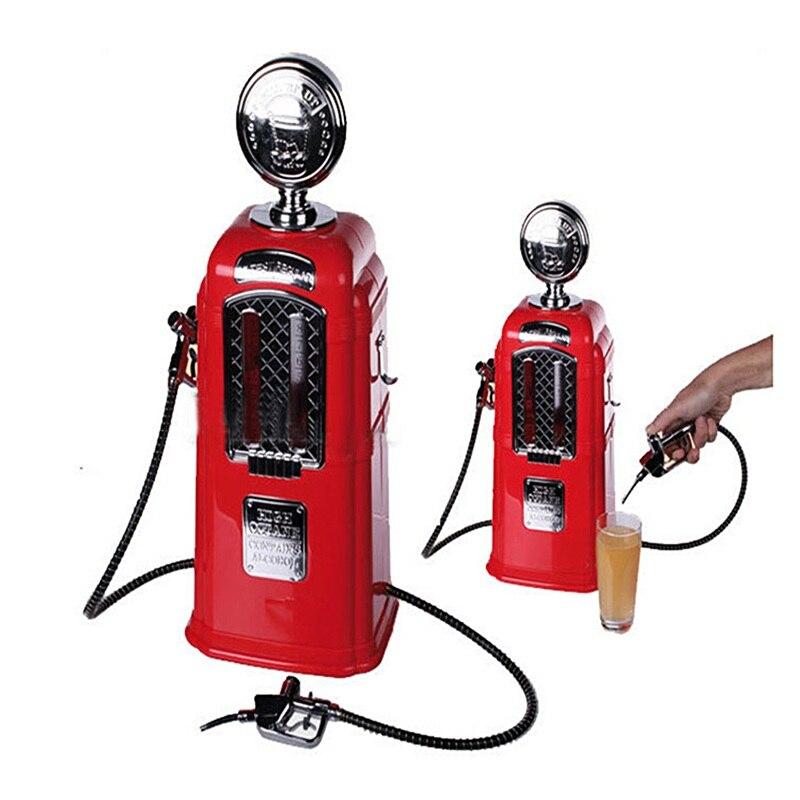 Double pistolets distributeur de bière Bar outils accessoires pompe à liqueur Station service distributeur alcool boisson thé boisson distributeur Machine