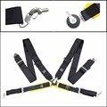 """Competencia Estilo 4 Puntos Cinturones de seguridad Snap-In 3 """"Racing Harness del Cinturón de seguridad del cinturón de seguridad del asiento con Camlock con logo"""