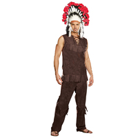 Halloween Costumes American Indian Native Fringed Original Indigenous Clothing Adult Male Halloween Costumes