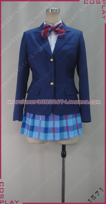 Love Live  school unifrom cosplay costume custom any size