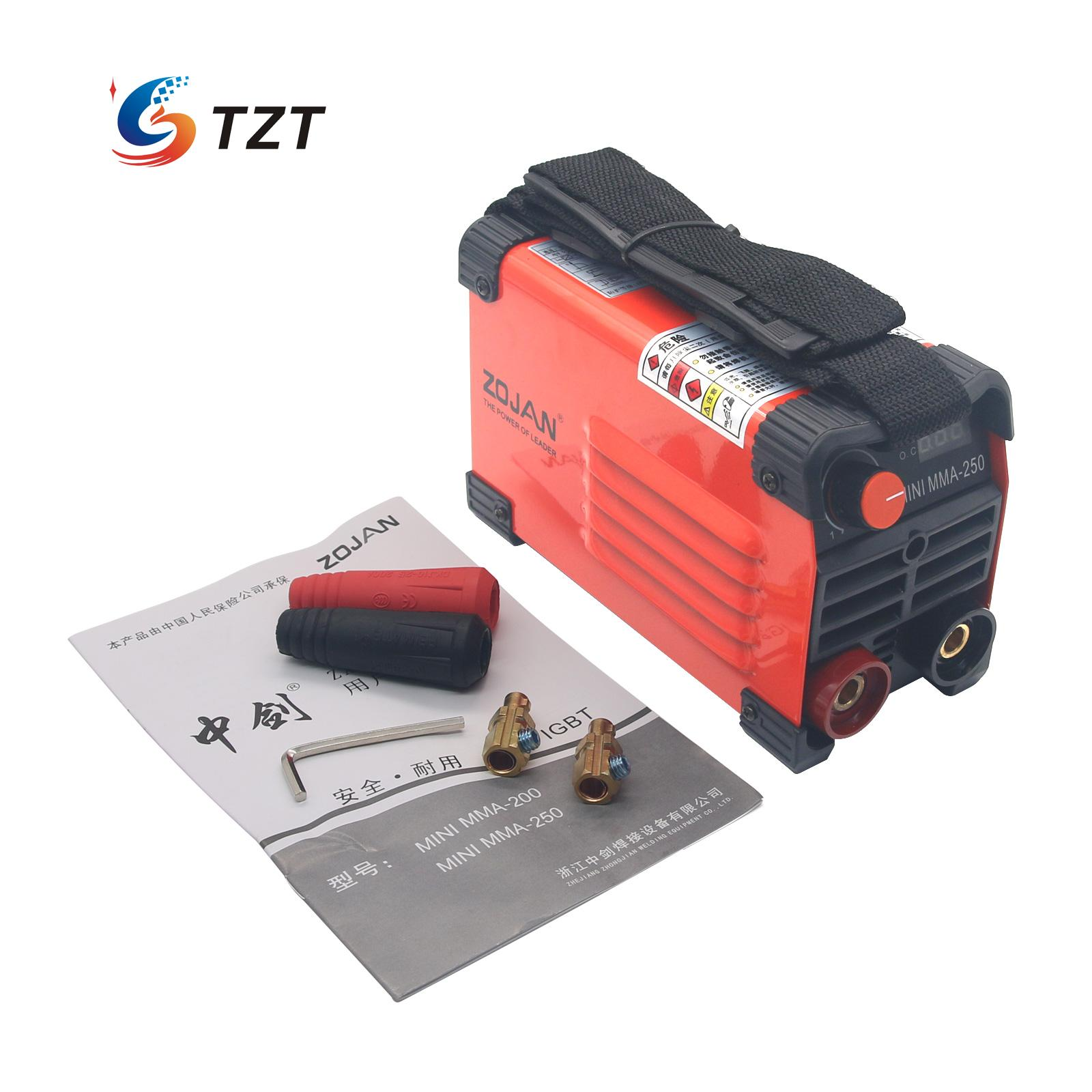 Handheld Mini MMA Electric Welder 220V 20-250A Inverter ARC Welding Machine Tool mma 300 5 20