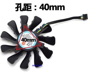 Новый кулер-вентилятор GPU VGA для его графической карты R9 270/280/285/290/7950/7970X FD7010H12D, 12 в пост. Тока, 0,35 А, 85 мм, 4 Pins