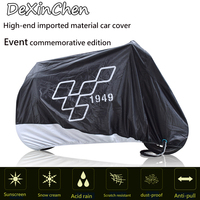 Best quality Motorcycle cover Outdoor Protector for Scooter waterproof Bike Rain Dustproof cover windproof cover,free shipping