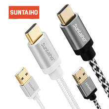 Suntaiho USB Type C Cable 3.1 Type C  for xiaomi mi9 mi 9 Charger Fast Charging Cable 3A for oneplus 6 Samsung s9 S8 Huawei P20