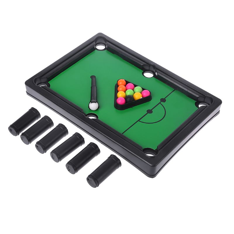 Mini Desktop Pool Table Billiard Tabletop Parent-child Interaction Games Kids Educational Toys Set for kids to play