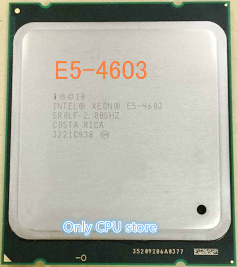 Intel Xeon E5 4603 SR0LF CPU Quad-Core 2.0GHz 95W Processor E5-4603