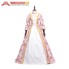Victorian Masked Ball Gothic  Dress Gowns Princess Masquerade Gown Theater Dresses