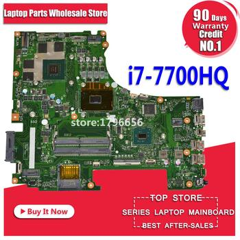 GL753VD Motherboard I7-7700HQ GTX1050M-4G For ASUS GL753E GL753V GL753 laptop Motherboard GL753VD Mainboard GL753VD Motherboard