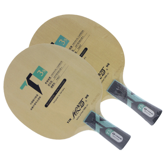 Yinhe T3s T-3s [T3] T3s cypress lame de Tennis de Table en carbone pour raquette pour 40 + nouveau matériau balle