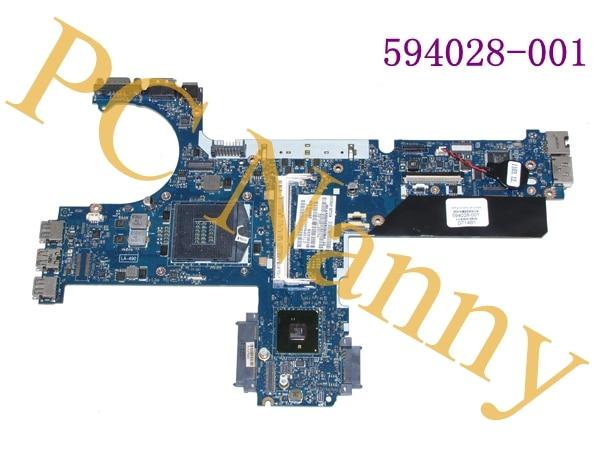 FOR HP Elitebook 8440P Intel Motherboard 594028-001 KCL00 LA-4902P